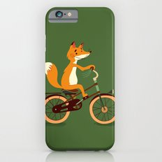 Little fox on the bike Slim Case iPhone 6s
