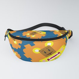 Cute Cartoon Lion Pattern Fanny Pack
