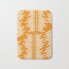 Leaves- minimal Bath Mat