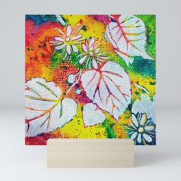 Leaves on the World Tree: Czechs Lípa ( Linden or Lime ) Mini Art Print