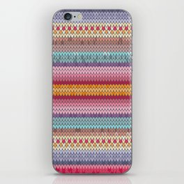 knitting pattern iPhone Skin