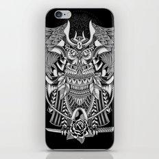 The Supreme Samurai iPhone Skin