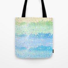 Spring Splatter Tote Bag