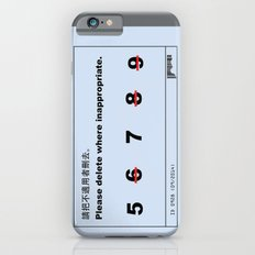 Inappropriate Slim Case iPhone 6s