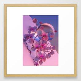 MARIGNY_ORCHID// Framed Art Print