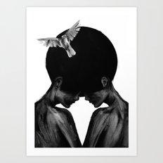 The Same Mind Art Print