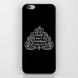 Same but different iPhone Skin
