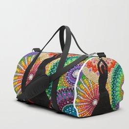 Flamenco, mandala, Spanish dancer, spain Duffle Bag