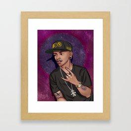 Jimbo Purple Framed Art Print