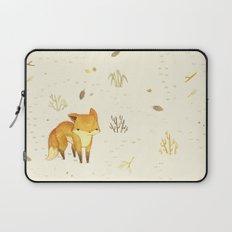 Lonely Winter Fox Laptop Sleeve