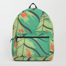 Candy Colored Monstera Backpack