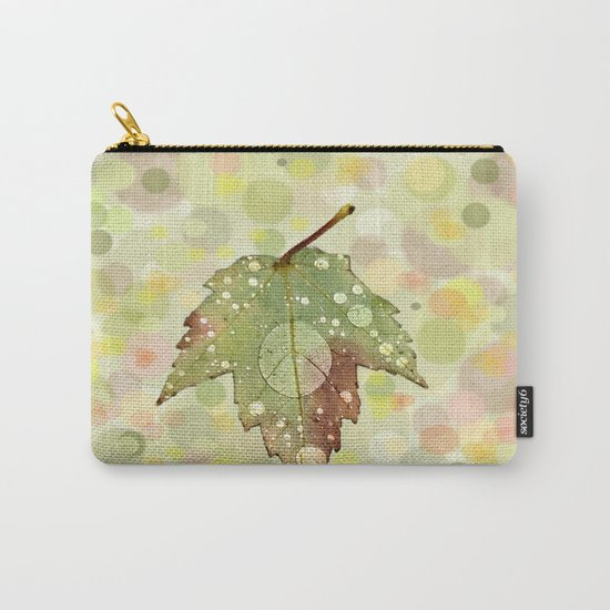 Just Leaf in Peace Carry-All Pouch