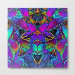 Floral Fractal Art G308 Metal Print