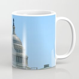 Capitol View With Reflection Pool Washington DC Coffee Mug