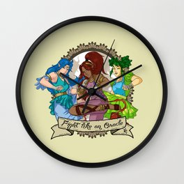 Fight Like An Oracle Wall Clock