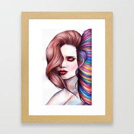 Creativity Is Contagious Framed Art Print