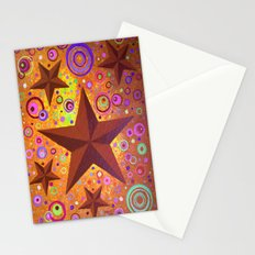 Stars & Circles  Stationery Cards