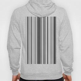Barcode Pattern Hoody