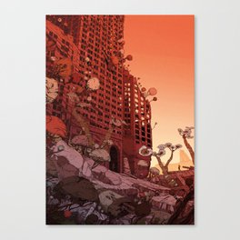 Old Earth Canvas Print
