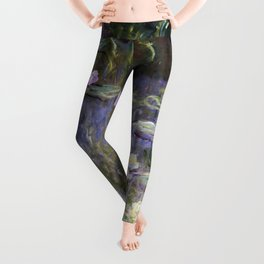 Water Lilies 1922 by Claude Monet Leggings