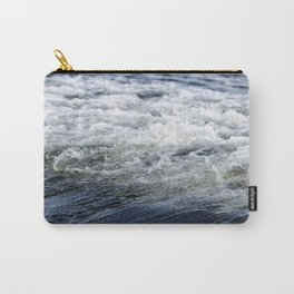 Turbulent Lake Water 8 Carry-All Pouch