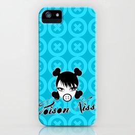 POISON KISS CYAN iPhone Case