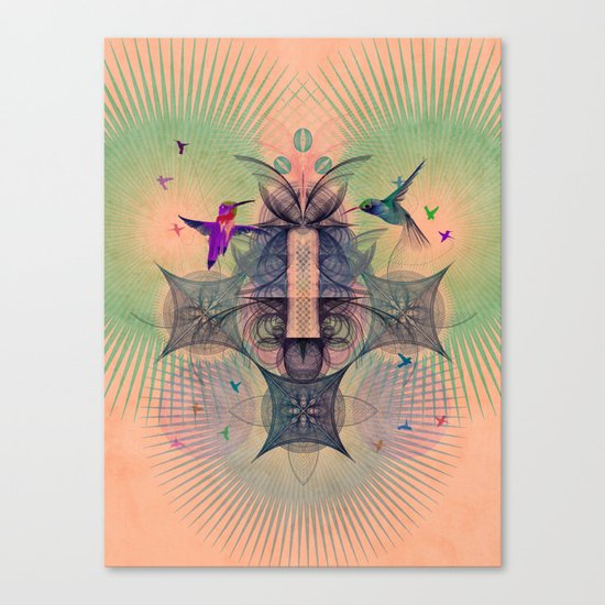 The Hummingbird Dimension Canvas Print