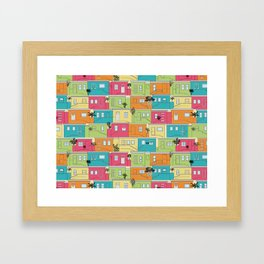 Bright Bo-Kaap Framed Art Print