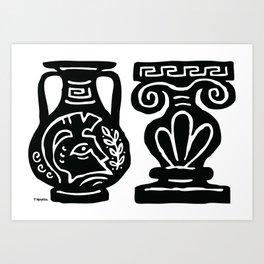 Corinthian Vase Art Print