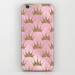 Royal Mermaid Crown iPhone Skin
