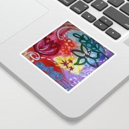 Dreamin' in Florals Sticker