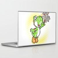 yoshi Laptop & iPad Skins featuring Yoshi Wonderland !  by Art & Be
