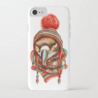 hawk iPhone & iPod Cases featuring Hawk by Julia Badeeva