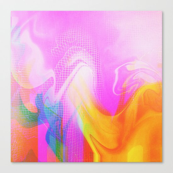 Glitch 26 Canvas Print
