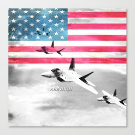 Air Force USA USAF Canvas Print