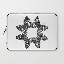 Butterfly Symmetry Laptop Sleeve
