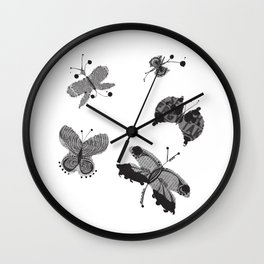 Flutter by Messages Wall Clock