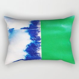 SKY/GRN Rectangular Pillow