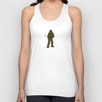 chewbacca Tank Tops featuring Chewbacca by Green Bird Press