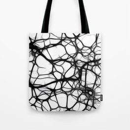 Black neurons Tote Bag