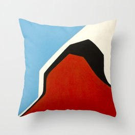 number 6 Throw Pillow