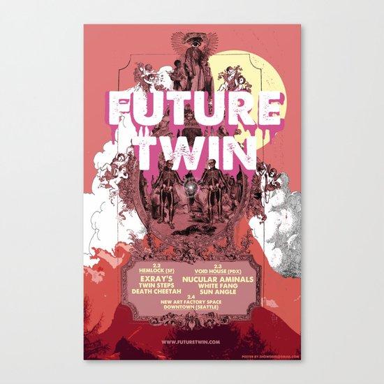FUTURE TWIN Canvas Print