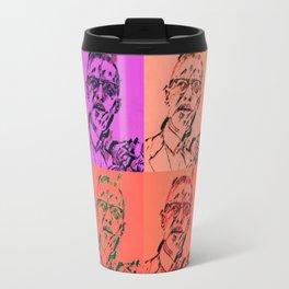 Malcolm Pop Art Travel Mug