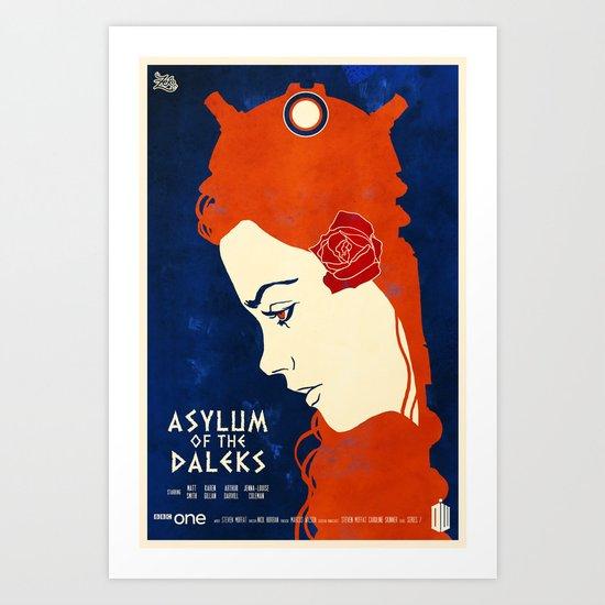 Asylum of the Daleks Art Print