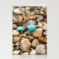 egg Stationery Cards featuring Egg by Mylittleradical