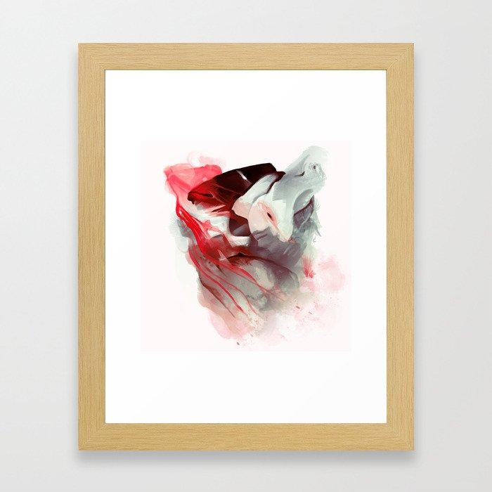 Damp Squib Framed Art Print