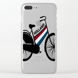Holland-Roadster-Bicycle Clear iPhone Case