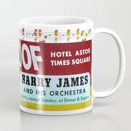 Harry James on Times Square Coffee Mug