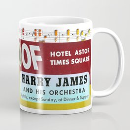 Harry James on Times Square Coffee Mug