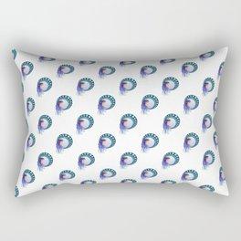 Purple lady - Art Nouveau style Rectangular Pillow